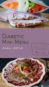 glucose cuisine diabetic mini menu vol 1 diabetic meals glucose levels