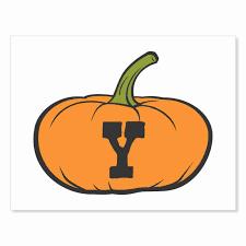 printable digital download diy fall art monogram pumpkin short