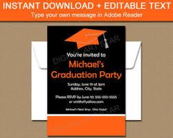 graduation invitation template graduation party invitation template high school graduation