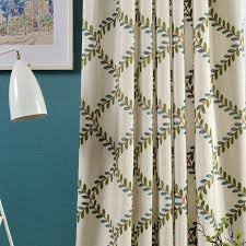 Kitchen Curtain Material by Online Get Cheap Embroidered Curtain Fabric Aliexpress Com