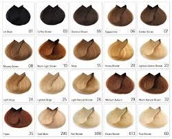 Types Of Hair Colour by Rhh Colour Chart Small Medium Hair Styles Ideas 33151