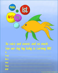 fish themed birthday party invitations alanarasbach com