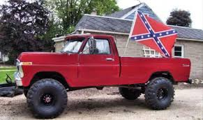 The Truth About The Confederate Flag Ode To A Muddy Red Pickup Flying A Confederate Flag People Of