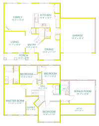 4 bedroom floor plans with bonus room craftsman house plan with