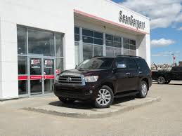 toyota finance canada contact pre owned 2013 toyota sequoia limited suv4wd in grande prairie