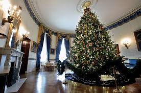 white house decorations trees and more time