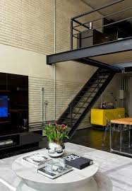 industrial chic loft features the ideal match between comfort and