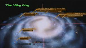 Galaxy Map Mass Effect 2 The Galaxy Map Offers Information When You Need It