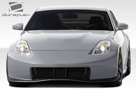 nissan 350z wide body free shipping on duraflex 03 08 nissan 350z n 3 front bumper cover kit