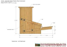 plans to build a house home garden plans cf100 automatic chicken feeder plans