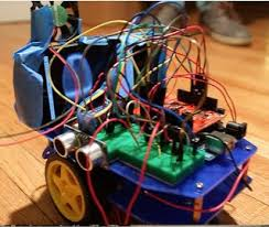 Seeking Robot 106a Heat Seeking Robot