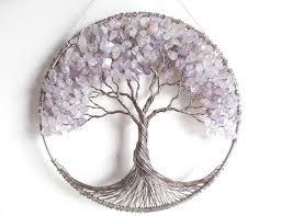 sale amethyst tree of sun catcher ooak