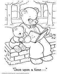 teddy bear coloring pages free printable papa baby teddy