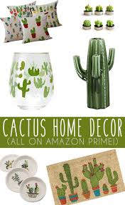 cactus home decor finds on amazon living room kitchen room