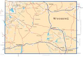 map of wyoming a map of the state of wyoming provided by rocky mountain timberlands