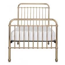 Metal Frame Single Bed Incy Interiors Gold Metal Framed Single Bed Furniture