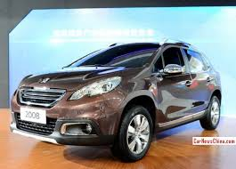 where is peugeot made china made peugeot 2008 suv arrives at the guangzhou auto show