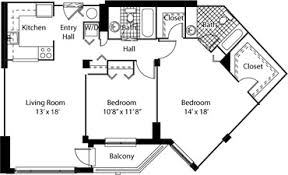 Floor Plan Of 2 Bedroom Flat Devonshire Place Apartments Available Apartments Holyoke Ma One
