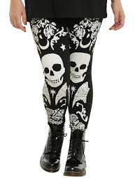 div u003eskulls and roses and wings oh my these leggings have the