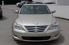 hyundai genesis 3 8 brown hyundai genesis in for sale used cars on