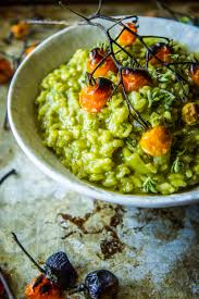 thanksgiving risotto recipe spinach basil pesto risotto the pioneer woman