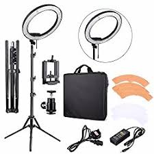 diva ring light amazon top 5 best ring lights for youtube video production filmtoolkit