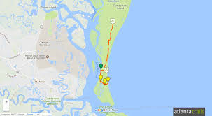 Map East Coast Florida by Cumberland Island Camping Hiking And Backpacking Guide