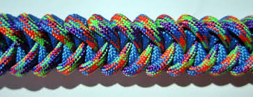 mardi gras dog collar 4 royal blue and mardi gras custom paracord dog collar w d ring attached