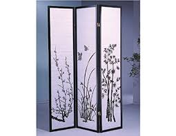 Panel Shoji Screen Room Divider - amazon com legacy decor 3 panel flower design wood shoji screen