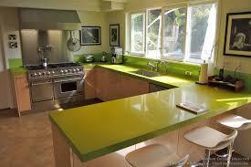 Green Kitchens Green Quartz Countertop Pro Range Hood Designer Kitchens La 07
