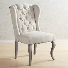 Wingback Dining Chairs Sale Galloway Paisley Wingback Dining Chair Crate And Barrel With Idea