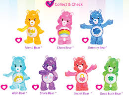 series 2 collector u0027s checklist care bears activity ag kidzone