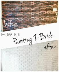 Brick Wall by How To Paint An Interior Brick Wall Pbjstories Com Home