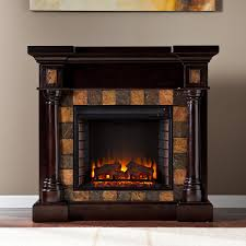 carrington corner electric fireplace classic espresso