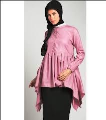 desain baju gamis hamil baju muslim ibu hamil modern 2018 model baju terbaru 2018