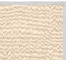 Pottery Barn Kids Outlet Ga Chenille Jute Thick Solid Border Rug Gray Pottery Barn Kids