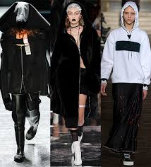 fashion week fall winter 2016 2017 the hoodie trend vogue paris