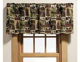 Rustic Curtains And Valances Window Curtains Window Drapes U0026 Window Treatments