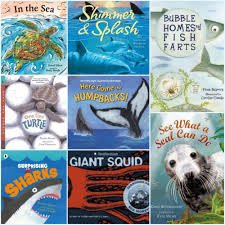 ocean wonders twenty nonfiction picture books about sea life