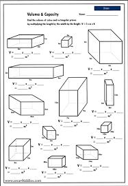 surface area of a rectangular prism worksheets worksheets
