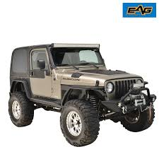 jeep wrangler grey 2 door 2 door armor rock slider rocker guard nerf bar step for 97 06 jeep