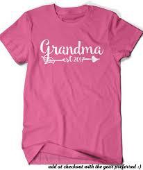 grandma shirt est since 2017 t shirt t shirt tee grammy