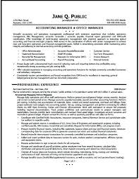 Office Manager Resume Example Sales Account Manager Resume Sample U2013 Topshoppingnetwork Com