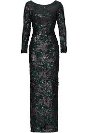 green printed sequin gown by slate u0026 willow for 80 120 rent