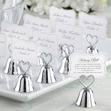 bells wedding place card holder
