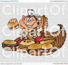 native american thanksgiving pictures royalty free rf clipart illustration of a thanksgiving native