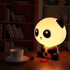 best light for sleep ledertek pretty cute panda bear cartoon animal night light baby room