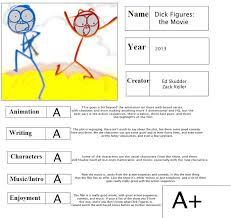 cartoon report card dick figures the movie by thearist2013 on