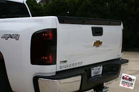 2001 silverado tail lights 30mil tail light tint installed http