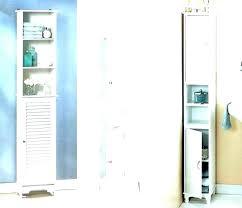 narrow bathroom storage cabinet thin bathroom cabinet michaelfine me